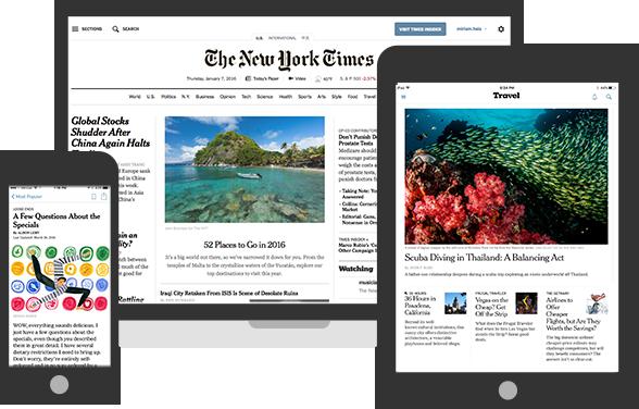 NY Times Digital Access