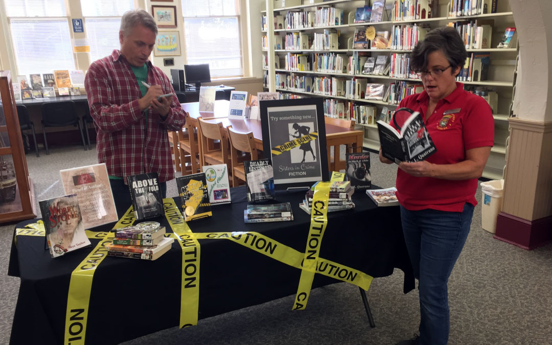 Sisters in Crime Loves St. Johns County Public Library, Hastings Branch!