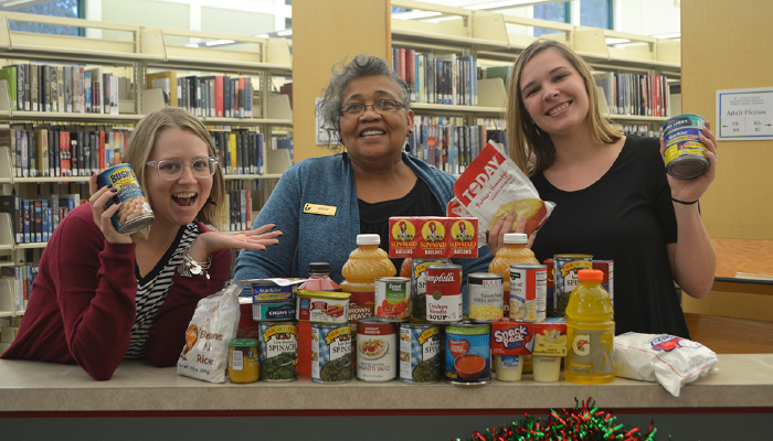 Library Food for Fines program returns