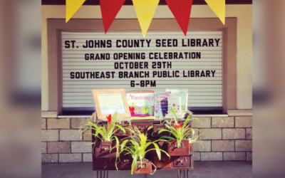 SJCPLS Introduces New Seed Library as a Result of Community Partnership