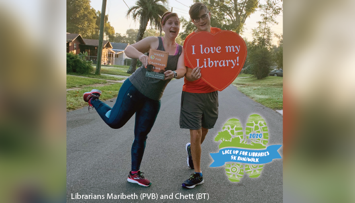 Lace Up for Libraries News