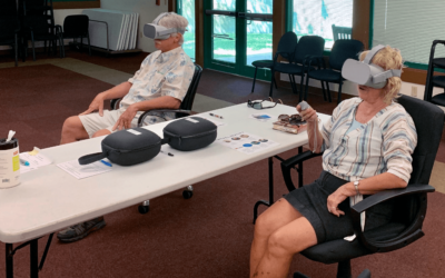 New library program unveils virtual reality headsets at the Southeast Branch Library