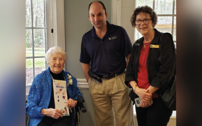 Books by Mail Patron Celebrates 106th Birthday