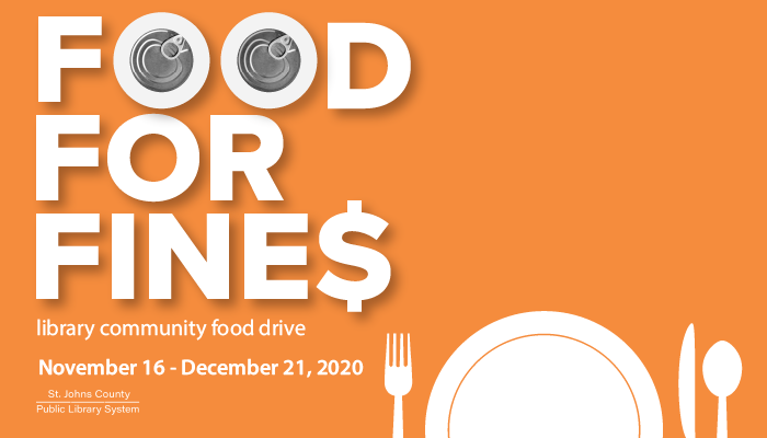 Library Food for Fines Returns