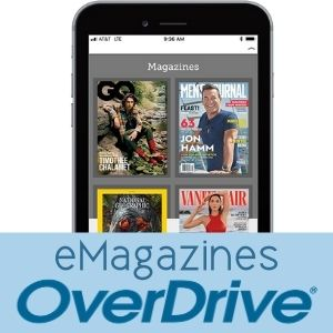 Digital Magazines on OverDrive