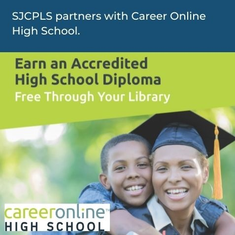 Earn an accredited high school diploma free through your library